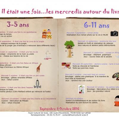 Gazette des mercredis septembre - octobre-min