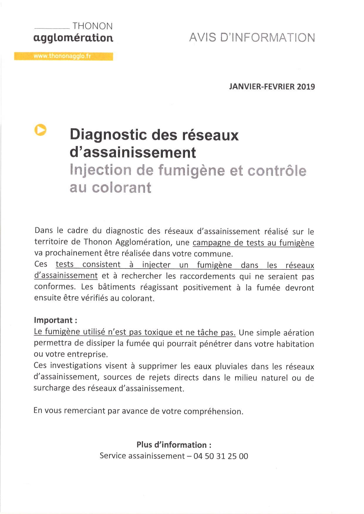 Diagnostic Des Reseaux D Assainissement Injection De Fumigene Et
